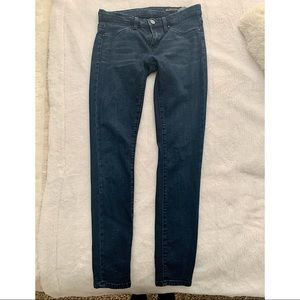 BlankNYC Spray-On Dark Wash Skinny Jeans